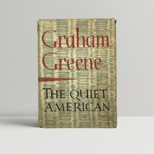 graham greene the quiet american first uk edition 1955