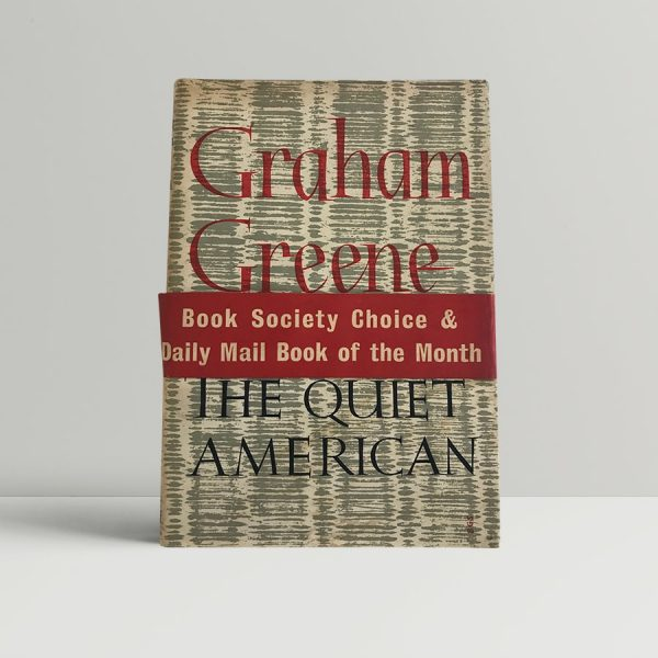 greene graham the quiet american first uk edition 1955 5