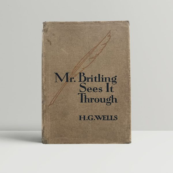 h g wells mr britling sees it through first uk edition 1916