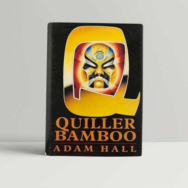 hall adam quiller bamboo first uk edition 1992