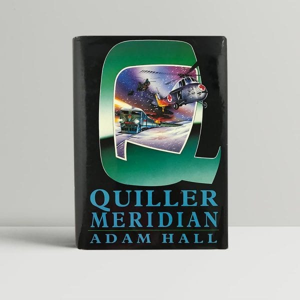 hall adam quiller meridian first uk edition 1993
