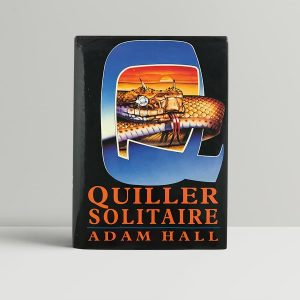 hall adam quiller solitaire first uk edition 1992