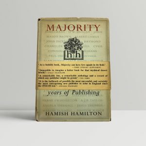 hamilton hamish majority first uk edition signed