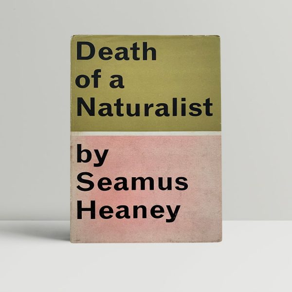 heaney seamus death of a naturalist first uk edition 1966