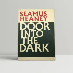 heaney seamus door into the dark first uk edition 1969