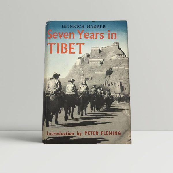 heinrich harrer seven years in tibet first uk edition 1953 2