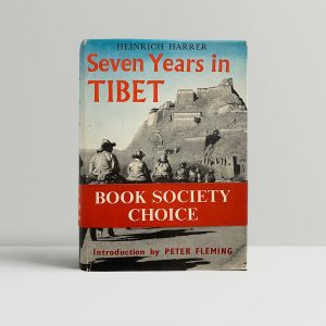 heinrich harrer seven years in tibet first uk edition 1953 band