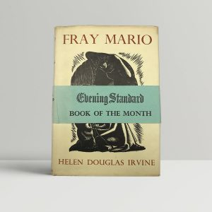 helen douglas irvine fray mario first uk edition 1939 band