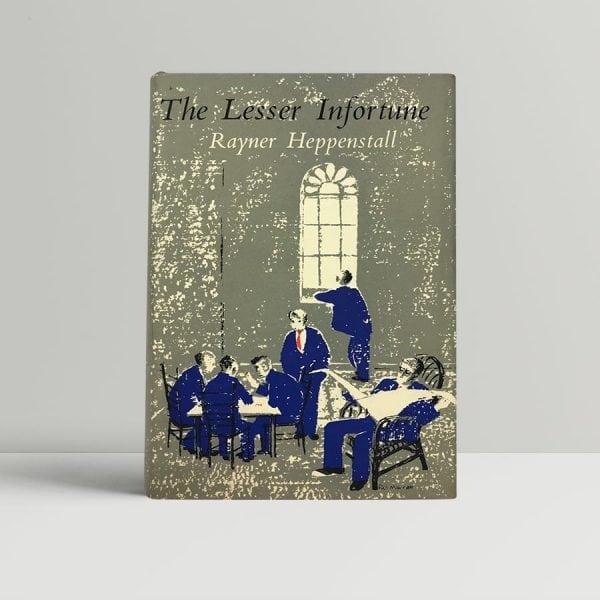 heppenstall rayner the lesser infortune first uk edition 1953
