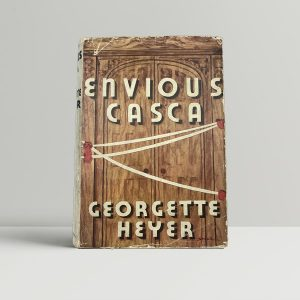 heyer georgette envious casca first uk edition 1941