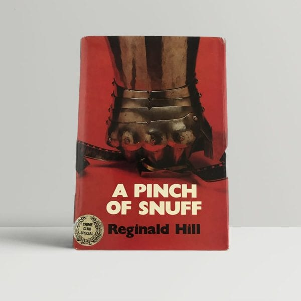 hill reginald a pinch of snuff first uk edition 1978