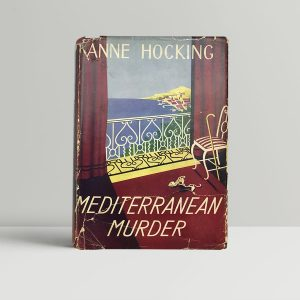 hocking anne mediterranean murder first uk edition 1951