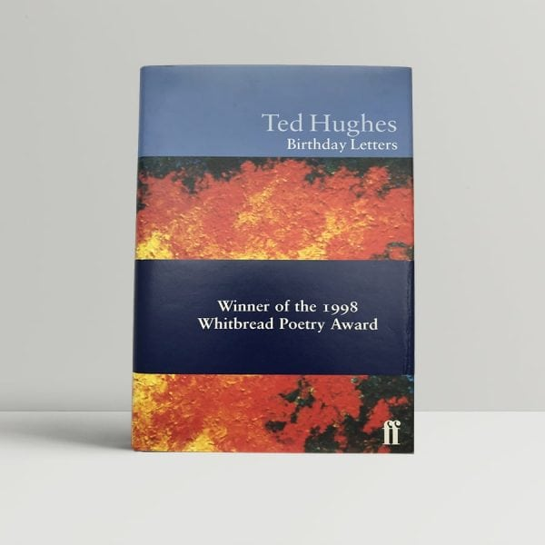 hughes ted birthday letters 1st uk edition 1998 band