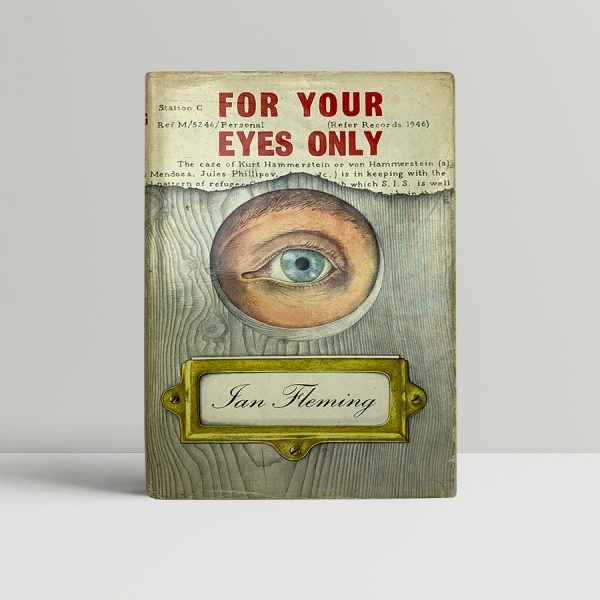 ian fleming for your eyes only first uk edition 1960