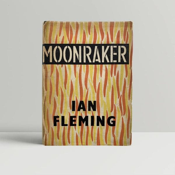 ian fleming moonraker first uk edition 1955 with shoo on page 10