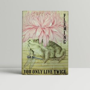 ian fleming you only live twice first uk edition proof dj