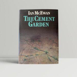 ian mcewan the cement garden first uk edition 1978 signed