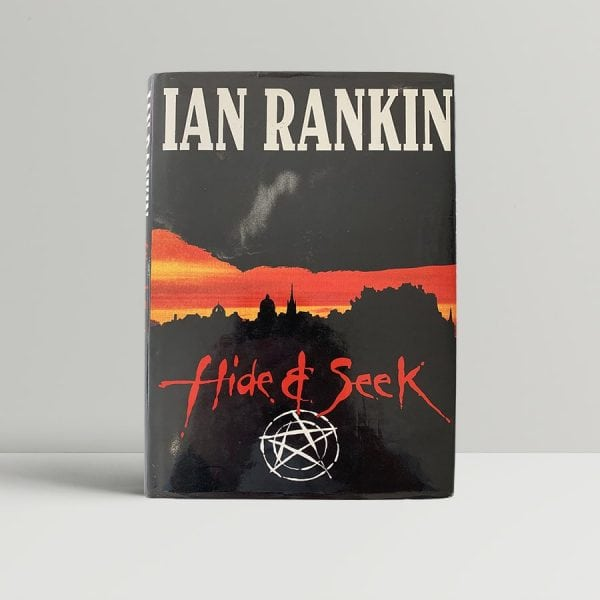ian rankin hide and seek first uk edition signed and doodled