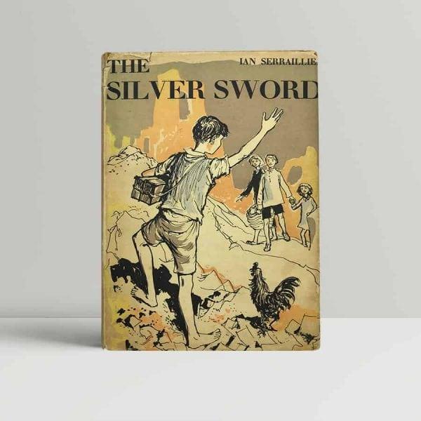 ian serrailier the silver sword first uk edition 1956