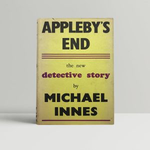 innes michael applebys end first uk edition 1945