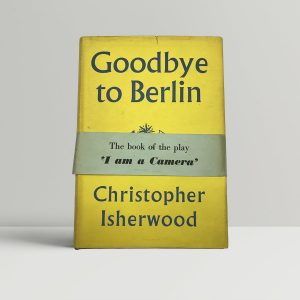 isherwood christopher goodbye to berlin wrap around band 1954