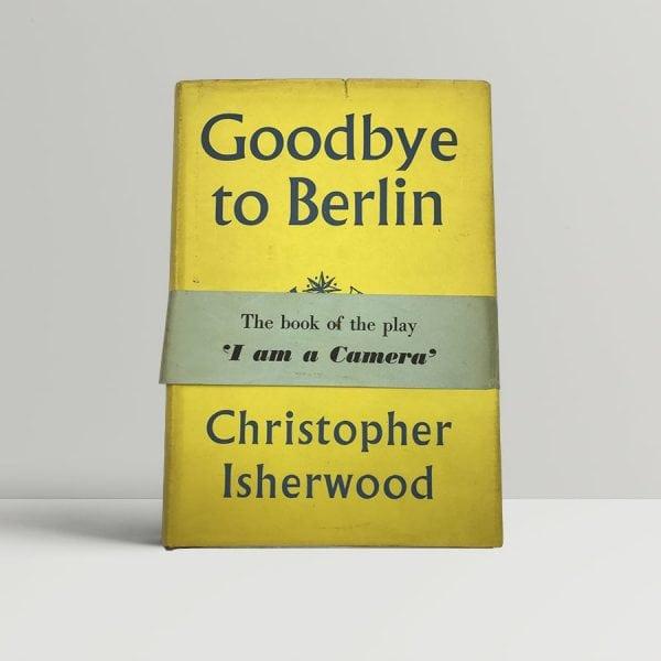 isherwood christopher goodbye to berlin wrap around band 1954