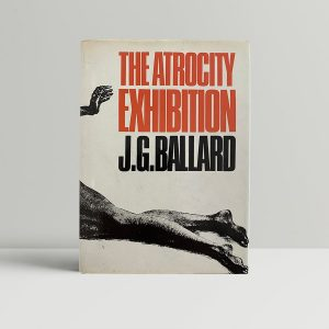 j g ballard the atrocity exhibition first uk edition 1970 signed postcard