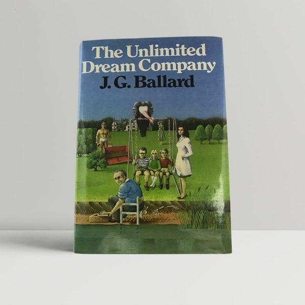 j g ballard the unlimited dream company first uk edition
