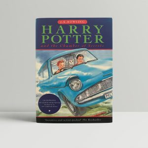 j k rowling harry potter and the chamber of secrets first uk edition 1998 fine