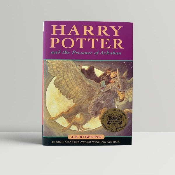 j k rowling harry potter and the prisoner of azkaban first uk edition 1999