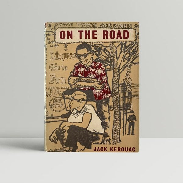 jack kerouac on the road first uk edition 1958