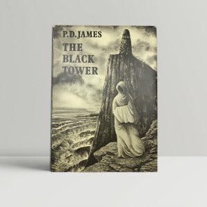 james p d the black tower first uk edition 1975 signed