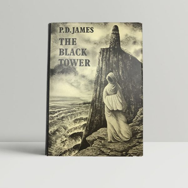 james p d the black tower first uk edition signed 1975