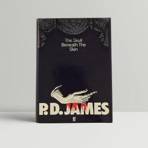 james p d the skull beneath the skin first uk edition 1982 signed