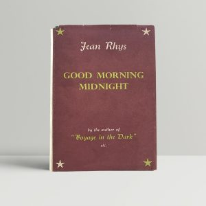 jean rhys good morning midnight first uk edition 1939