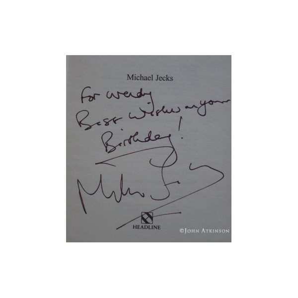 jecks michael the lepers return first uk edition 1998 signed 2