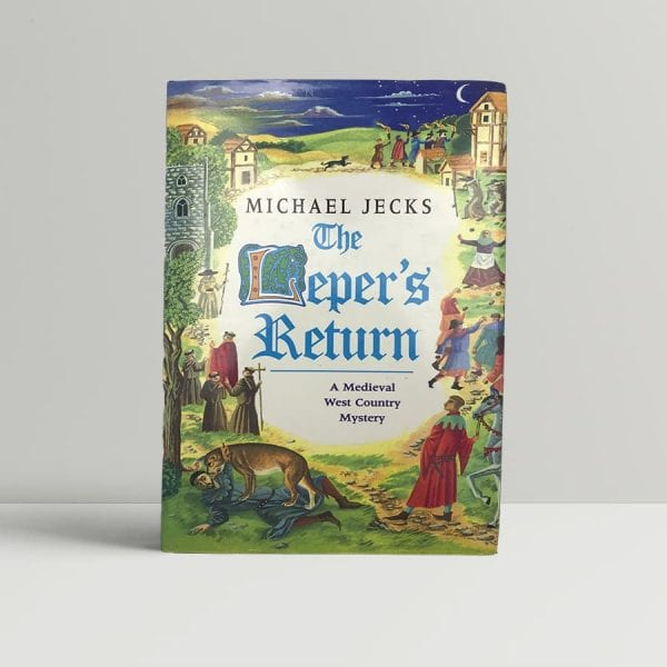 jecks michael the lepers return first uk edition 1998 signed