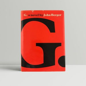 john berger g a novel first uk edition 1972 2