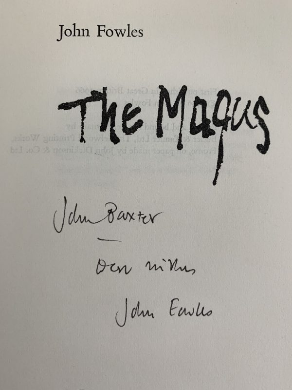 john fowles the magus first uk edition 1966 signed and inscribed img 2489 2