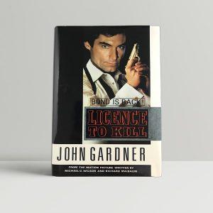 john gardner licence to kill first uk edition 1990