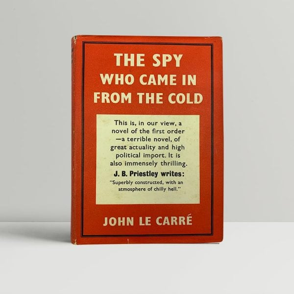 john le carre the spy who came in from the cold first uk edition 1963 signed