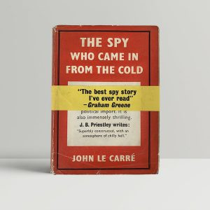 john le carre the spy who came in from the cold first uk edition signed card wrap around band