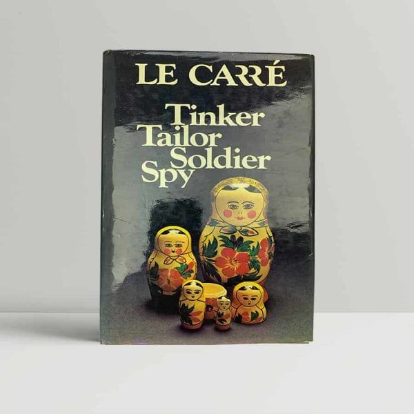 john le carre tinker tailor soldier spy first uk edition 1974 signed by the author