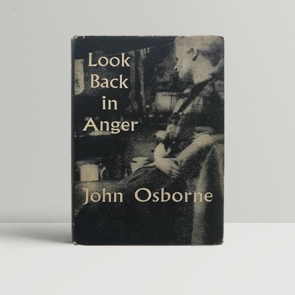 john osborne look back in anger first us edition signed 1957