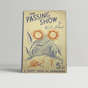 johns w e the passing show first uk edition signed