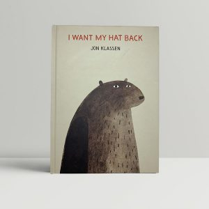 jon klassen i want my hat back first uk edition 2011