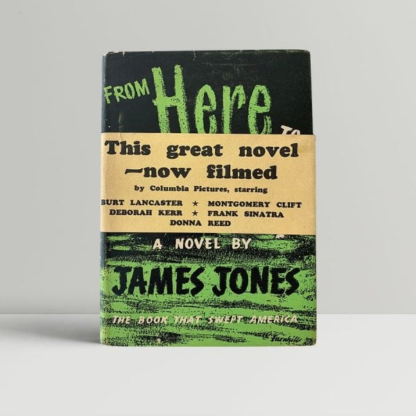 jones james from here to eternity first uk edition 1952