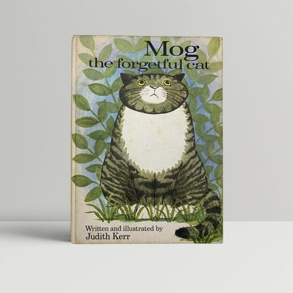 judith kerr mog the forgetful cat first uk edition 1970