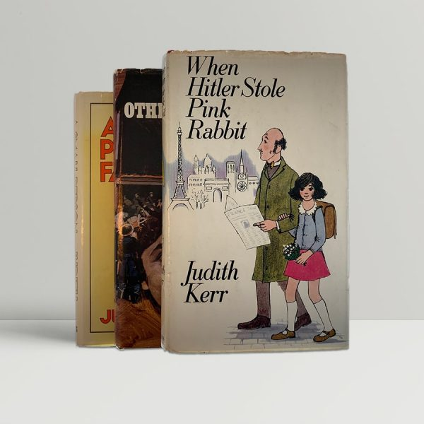 judith kerr out of the hitler time trilogy pink rabbit other way small person first editions img 2194 2