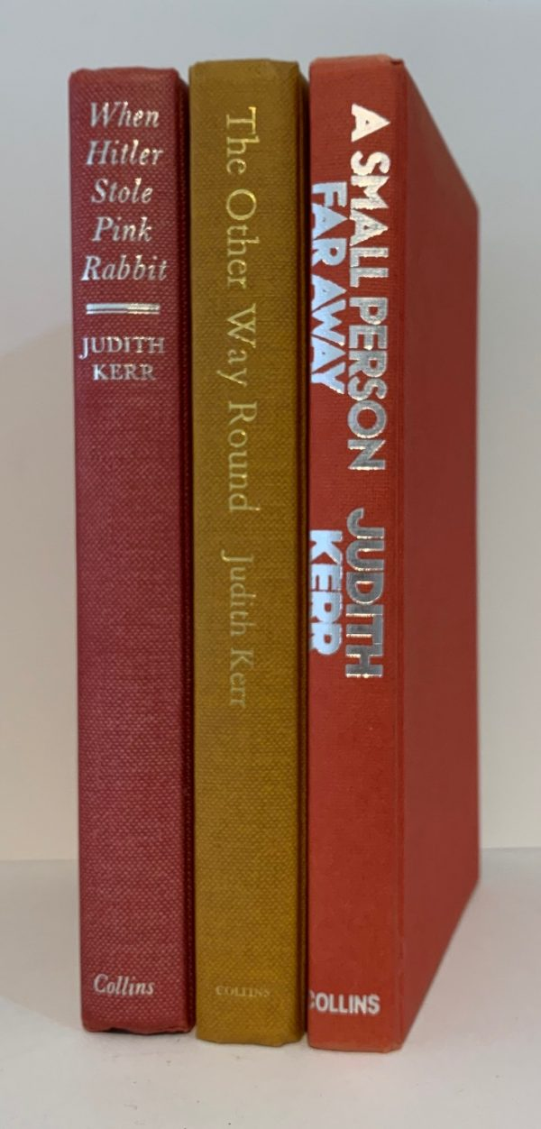 judith kerr out of the hitler time trilogy pink rabbit other way small person first editions img 8771